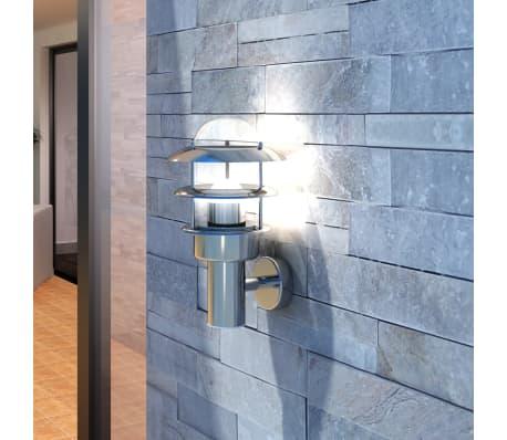 Patio LED Wandleuchte Lampe Edelstahl Außenlampe[1/6]