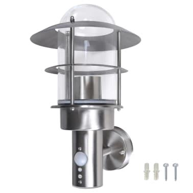applique murale ext rieure int rieure en acier inoxydable. Black Bedroom Furniture Sets. Home Design Ideas