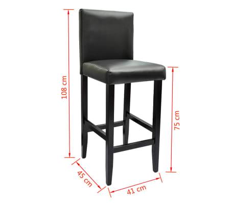 barset bartisch mit 2 barhockern schwarz g nstig kaufen. Black Bedroom Furniture Sets. Home Design Ideas