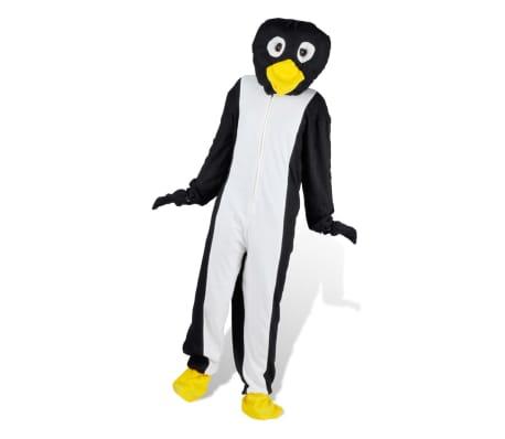 Maskeraddräkt Unisex Pingvin M-L