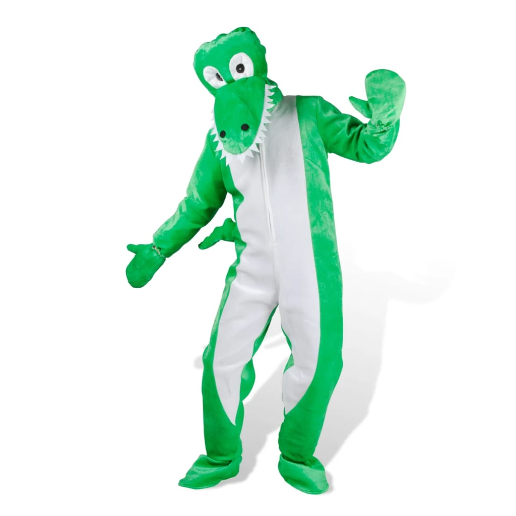 99130104 Kostüm Krokodil Faschingkostüm Karneval M-L