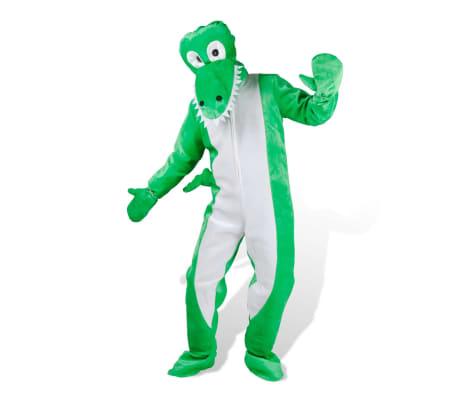Maskeraddräkt Unisex Krokodil M-L