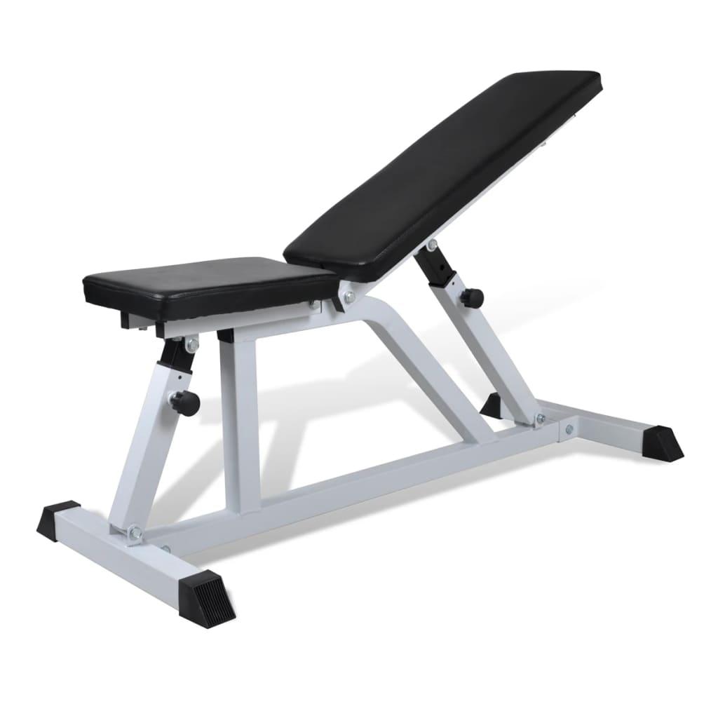 Bancă fitness pentru exerciții cu greutăți poza vidaxl.ro