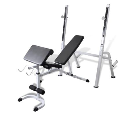 Banc De Musculation Multifonction Vidaxlfr