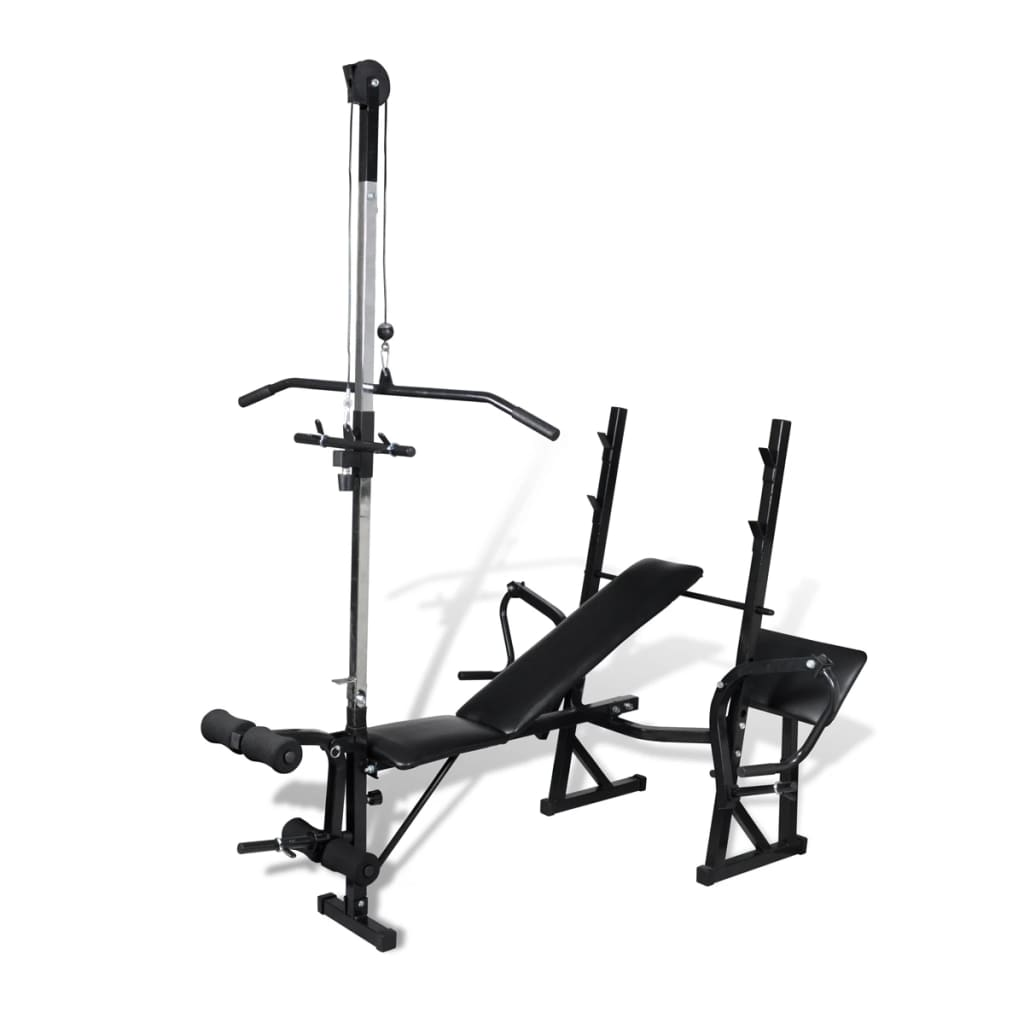 Fitness workout bench for home gym vidaxl