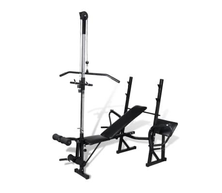 vidaXL Fitness Workout Bench Home Gym