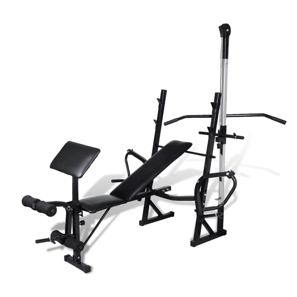 vidaXL Banco de ejercicios y musculación casero[3/7]