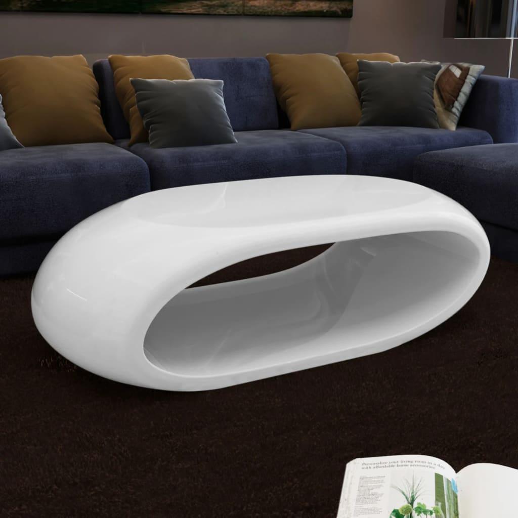 Konferenční stolek s dutinou bílý