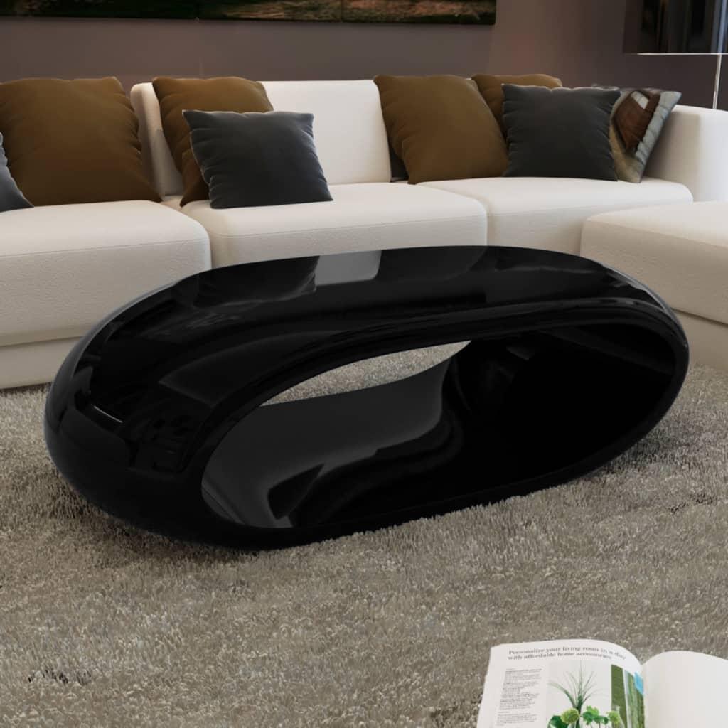 Konferenční stolek s dutinou černý