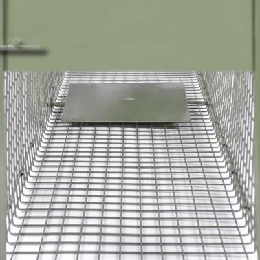 vidaXL Spąstai gyvūnams su 2 durimis, 150 x 30 x 30 cm[5/5]