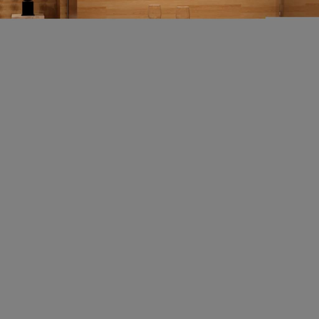 vidaXL Scaune de bar, 2 buc., roșu, piele ecologică poza 2021 vidaXL