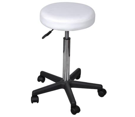 acheter tabouret de bureau blanc pas cher. Black Bedroom Furniture Sets. Home Design Ideas