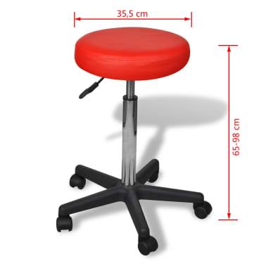 Office Stool red[4/4]
