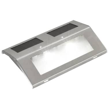 vidaXL Lampada solare per scale 4 x[2/5]