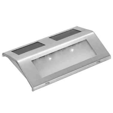 vidaXL Lampada solare per scale 4 x[3/5]