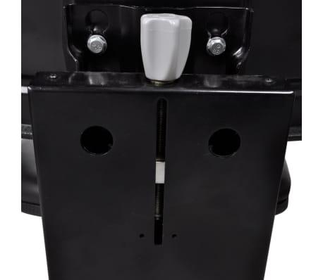 vidaXL Traktoriaus sėdynė su amortizatoriumi, juoda[7/9]