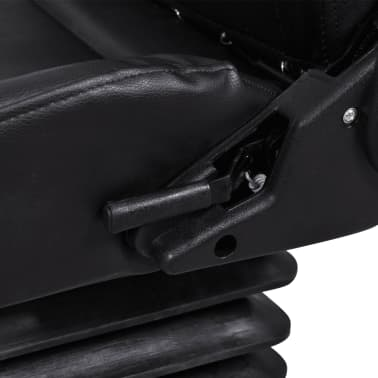 vidaXL Traktoriaus sėdynė su amortizatoriumi[7/8]