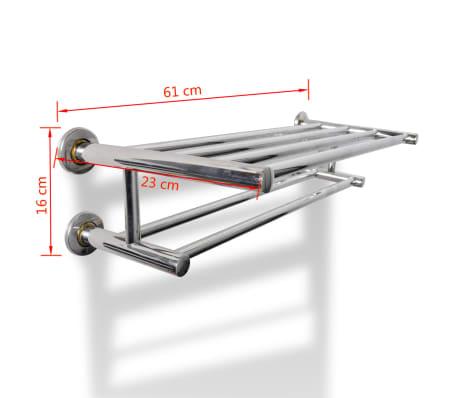 Stainless Steel Towel Rack 6 Tubes[7/7]