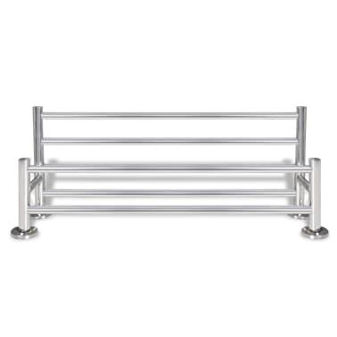 Stainless Steel Towel Rack 6 Tubes[4/7]