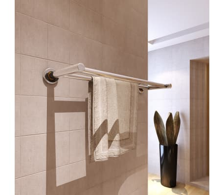 Stainless Steel Towel Rack 2 Tubes[1/7]