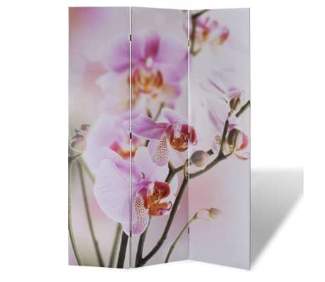 vidaXL Room Divider Print 120 x 180 Flower[1/5]
