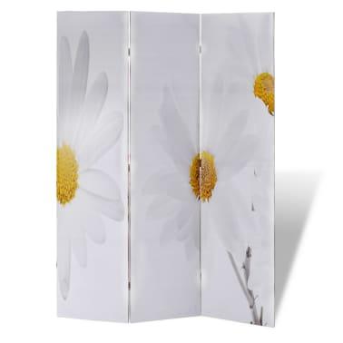 vidaXL Room Divider Print 120 x 180 Flower[4/5]