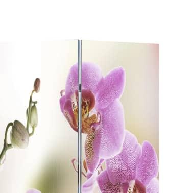 """vidaXL Folding Room Divider 63""""x66.9"""" Flower[2/5]"""