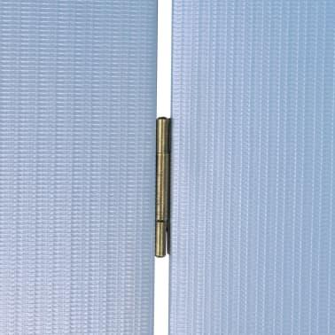 vidaXL Folding Room Divider Print 200 x 170 Beach[5/5]