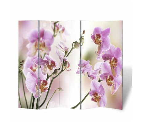 "vidaXL Folding Room Divider 78.7""x66.9"" Flower[4/5]"
