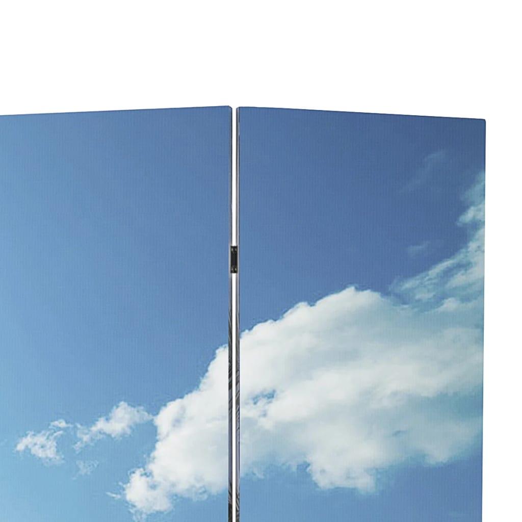 999240480 Raumteiler klappbar 240 x 170 cm Strand