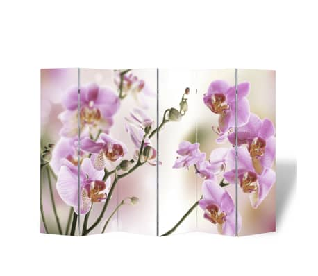 "vidaXL Folding Room Divider 94.5""x66.9"" Flower[4/5]"