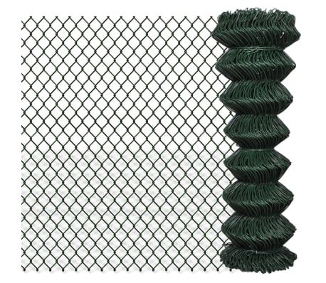 "Chain Fence 4' 1"" x 49' 2"" Green[1/3]"