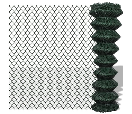 "Chain Fence 4' 9"" x 49' 2"" Green[1/3]"