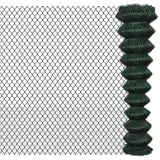 "Chain Fence 6' 6"" x 49' 2"" Green"