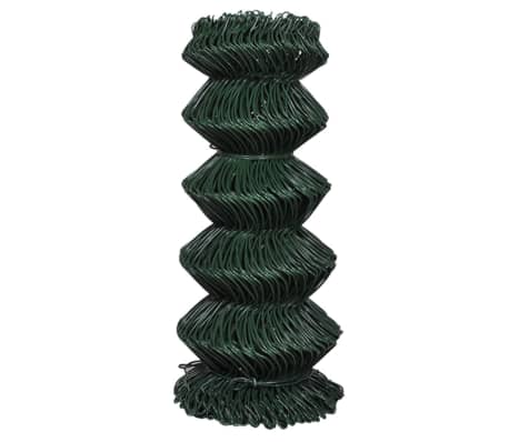 "Chain Fence 2' 7"" x 82' Green[2/3]"