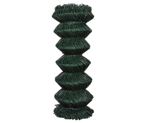 "Chain Fence 3' 3"" x 82' Green[2/3]"