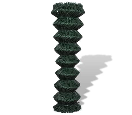 "Chain Fence 4' 9"" x 82' Green[2/3]"