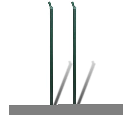 "Chain Fence 2' 7"" x 82' Green with Posts & All Hardware[6/8]"