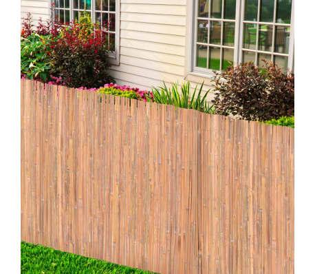 Rencinto recinzione in bambù 100 x 400 cm[2/6]