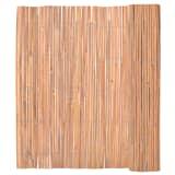 vidaXL Vindskydd 150 x 400 cm bambu