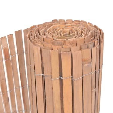 bambusmatte sichtschutzmatte sichtschutz 200 x 400 cm. Black Bedroom Furniture Sets. Home Design Ideas