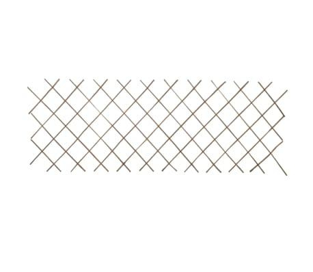 Trädgårdsstaket vide utdragbart 90x180 cm 5-pack[4/4]