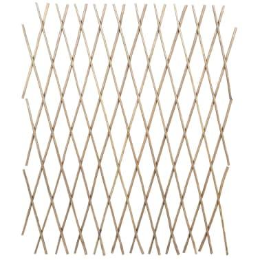 Trädgårdsstaket vide utdragbart 90x180 cm 5-pack[2/4]