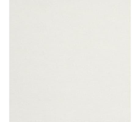 vidaXL parasol sandhvid 3 m stålstang[6/6]