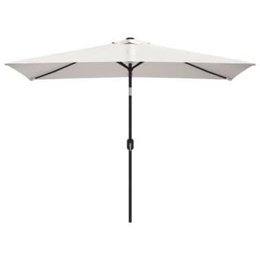 vidaXL Parasoll 200 x 300 cm sandhvit rektangulær[1/6]