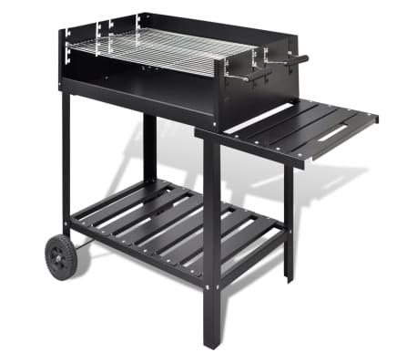 acheter barbecue au charbon avec 2 roues pas cher. Black Bedroom Furniture Sets. Home Design Ideas