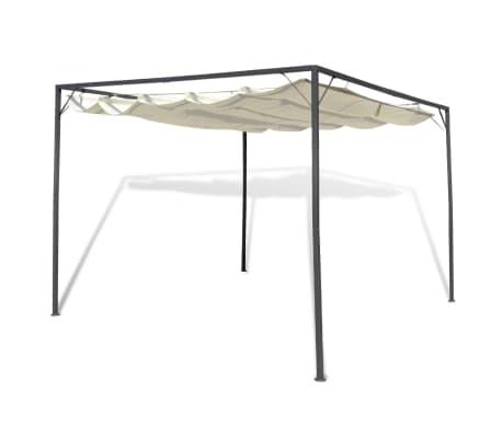vidaXL Garden Gazebo with Retractable Roof Canopy[1/7]