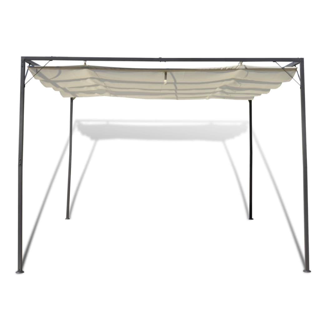 Zahradní altán se zatahovací střechou