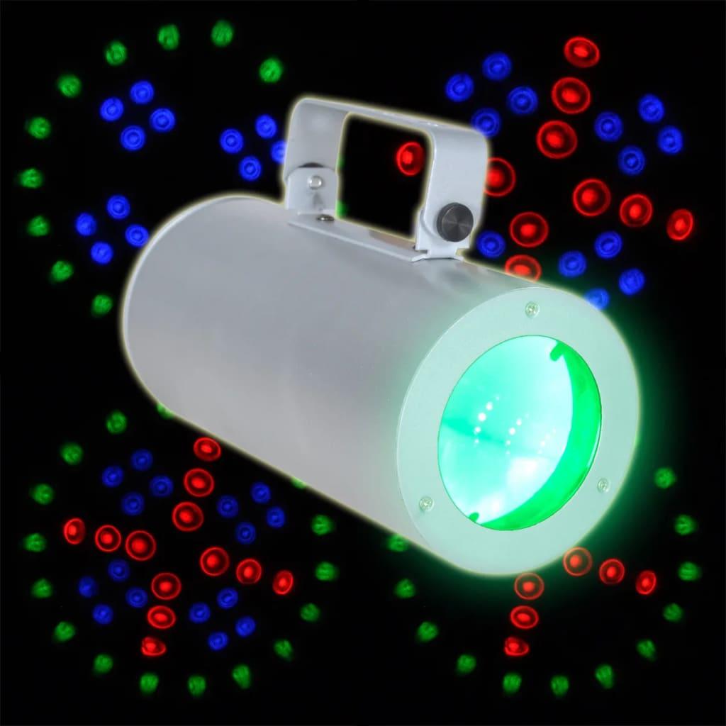 DJ disco Proton LED svítidlo - tříbarevné
