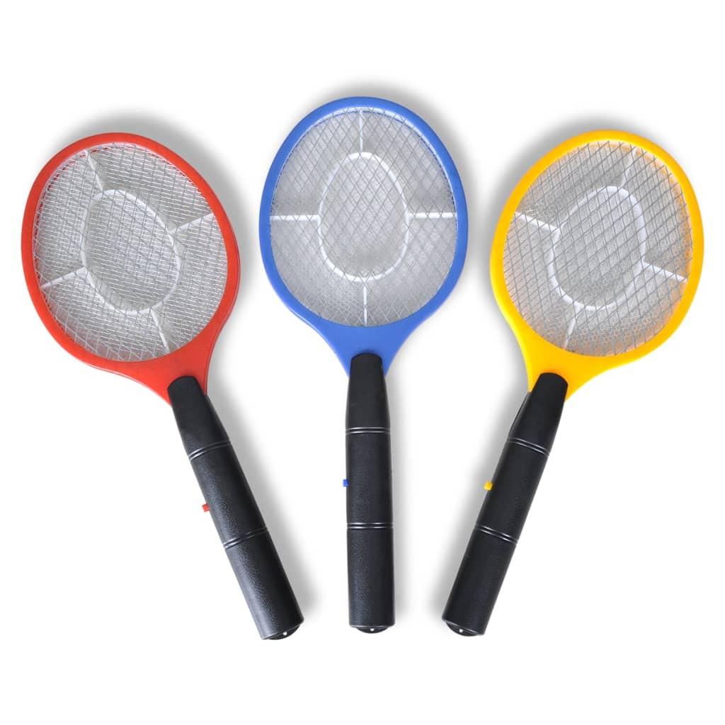 Plici electric pentru muște (3 buc) vidaxl.ro